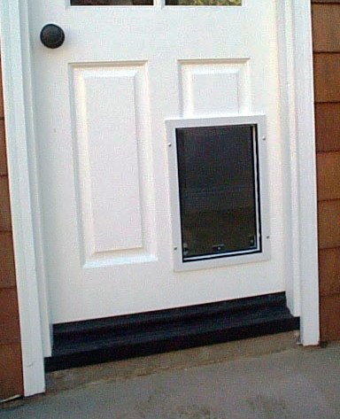 pet doors handyman job